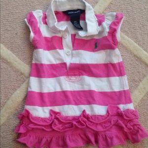 Ralph Lauren Baby Girl Dress EUC 9M